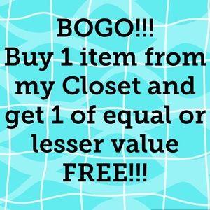 BOGO!!! See Description for details!